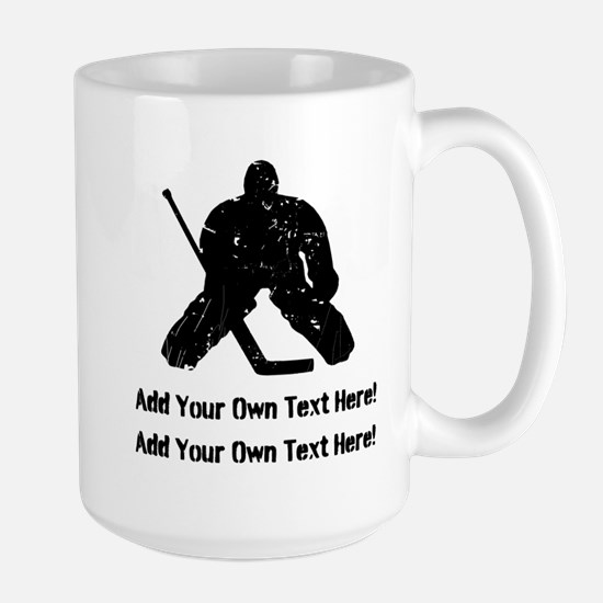 Personalize It, Hockey Goalie Mug
