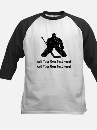 Personalize It, Hockey Goalie Baseball Jersey