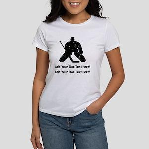 Personalize It, Hockey Goalie T-Shirt