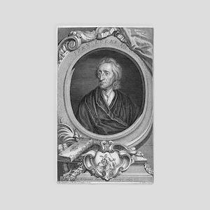 John Locke, English philosopher - 3'x5' Area Rug