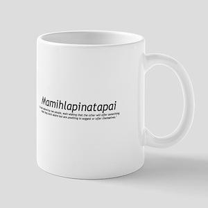 Mamihlapinatapai Definition Mug
