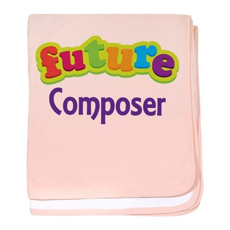 Future Composer baby blanket