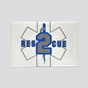 Grey Star of Life Magnets