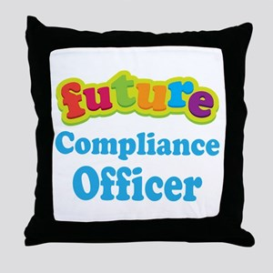 Future Compliance Officer Throw Pillow