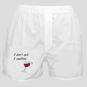 I Don't Spit... Boxer Shorts