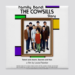 Family Band Merch Tile Coaster