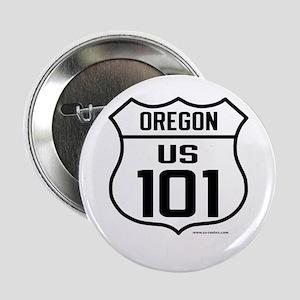 "US Route 101 - 2.25"" Button"