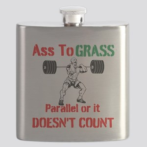 Ass To Grass or it doesnt count Flask