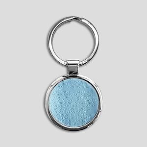 Moon braille - Round Keychain