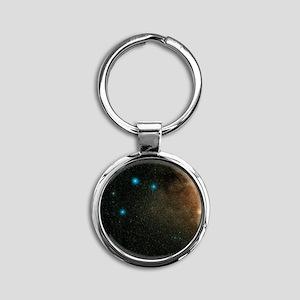 Sagittarius stars - Round Keychain