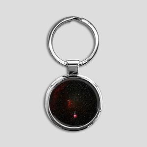 Orion constellation - Round Keychain