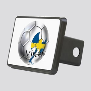 Sweden Soccer Ball Hitch Cover