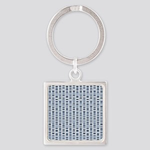 DNA sequences - Square Keychain