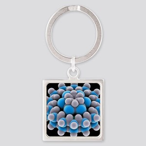 Nano ball-bearing, artwork - Square Keychain