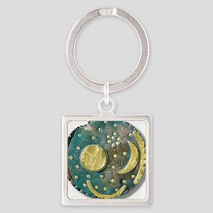 Nebra sky disk, Bronze Age - Square Keychain