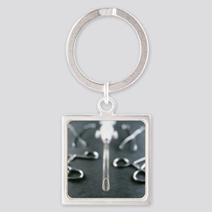 - Square Keychain