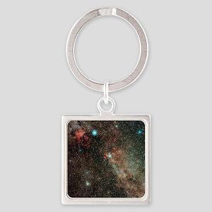 Milky Way in Cygnus - Square Keychain