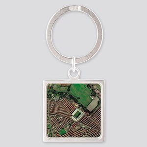 ial view - Square Keychain