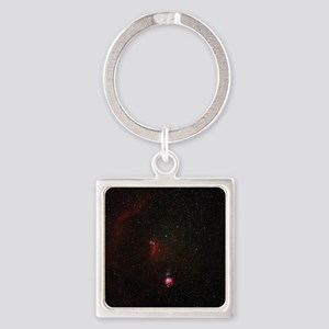 Orion constellation - Square Keychain