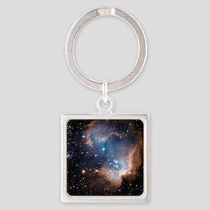 Starbirth region NGC 602 - Square Keychain