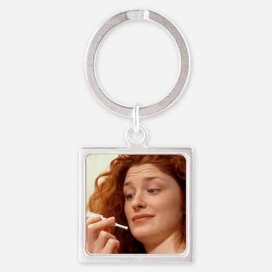drug inhaler - Square Keychain