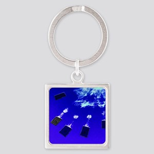 Identity fraud - Square Keychain