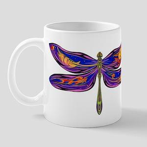Celestial Fantasy Dragonfly Mug
