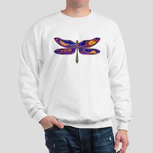 Celestial Fantasy Dragonfly Sweatshirt
