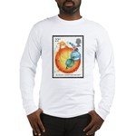 Sir Isaac Newton Long Sleeve T-Shirt