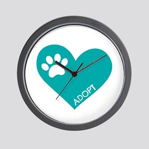 Animal Rescue Wall Clock