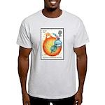 Sir Isaac Newton Grey T-Shirt