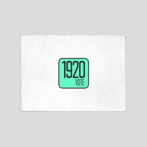 1920 VOTE 5'x7'Area Rug