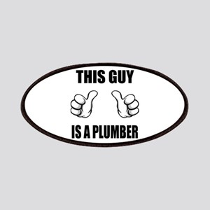 This Guy Is A Plumber Patches