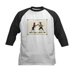 Fencing is the Art of Giving Kids Baseball Jersey