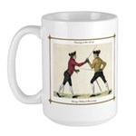 Fencing is the Art of Giving Large Mug