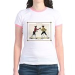 Fencing is the Art of Giving Jr. Ringer T-Shirt