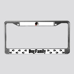I love spaniels License Plate Frame