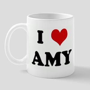 I Love AMY Mug