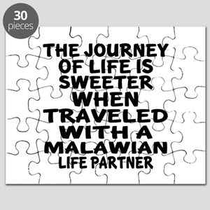 Traveled With Malawian Life Partner Puzzle