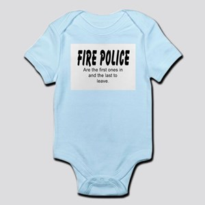 Fire police Body Suit