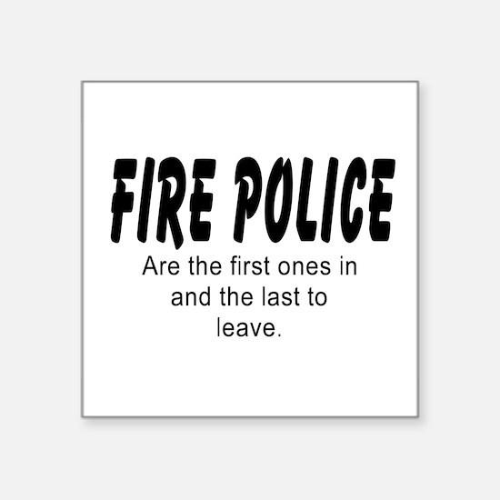 Fire police Sticker