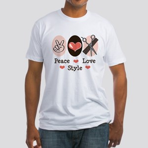 Peace Love Style Hairstylis T-Shirt