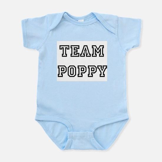 TEAM POPPY Infant Creeper Body Suit