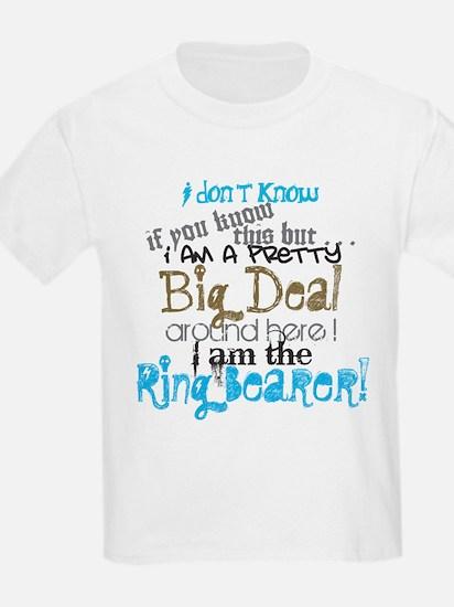 Big Deal Ring Bearer T-Shirt