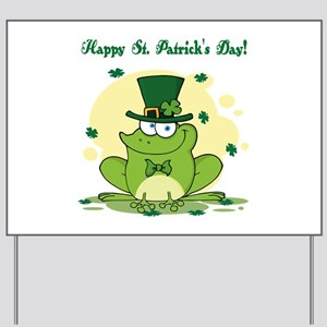 St. Patrick's Day Yard Sign