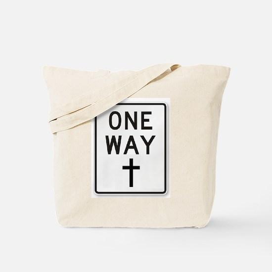 One Way: Jesus Tote Bag