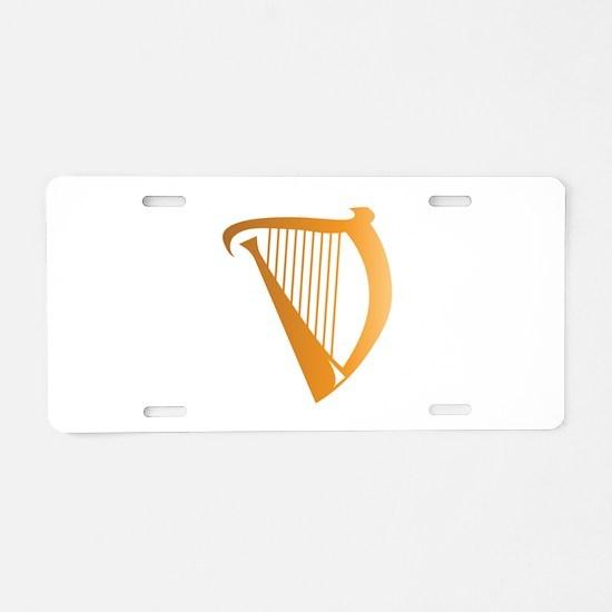 Harp Aluminum License Plate