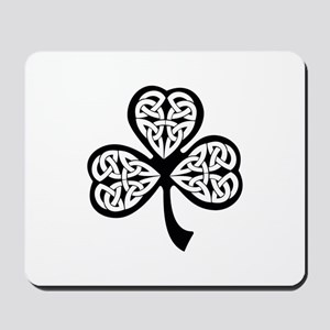 Celtic Shamrock Mousepad