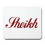 Sheikh name Mousepad