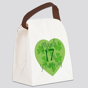 St. Patty's Day Canvas Lunch Bag